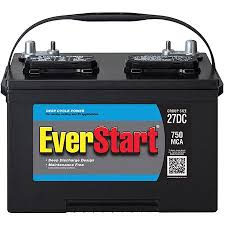 Deep Cycle Marine Battery Group Size Chart Everstart Marine Battery Group Size 27dc