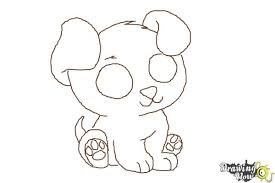 puppy drawing step by step. Exellent Step How To Draw A Chibi Puppy  Step 8 On Drawing By D
