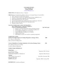 Resume For Cnc Operator Doc Wxa11390 For Cnc Machinist Resume Free