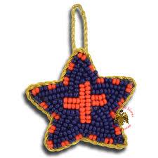 orthodox filakto amulet pendant blue star with orange cross beads orthodox amulets nioras com byzantine orthodox art greek traditional s