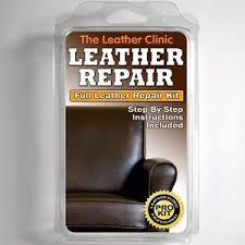 dark brown leather sofa chair repair