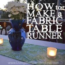 how to make a square table fabric table runner handmade fabric table runner table runner ideas