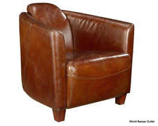 vintage leather club chairs. Set Of Two 29\ Vintage Leather Club Chairs