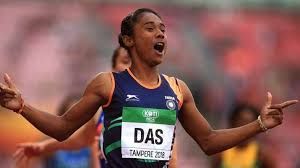 Heartiest congratulations to @himadas8 and all 597 newly. Sprinter Hima Das Nominated For Khel Ratna Award Other News India Tv