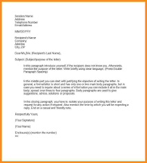 Formal Letter Heading Format 10 Examples Of Semi Formal Letters Parts Resume Business