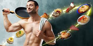 eating for muscle gain gym training