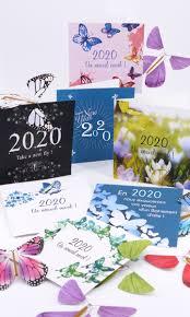 New Year Cards 2020 Le Papillon Magique