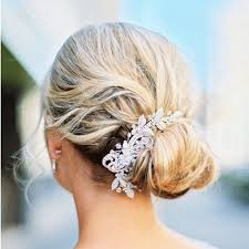 Bridesmaid Hairstyles 44 Stunning 24 WeddingReady Buns Knots And Chignon Updos For Every Type Of