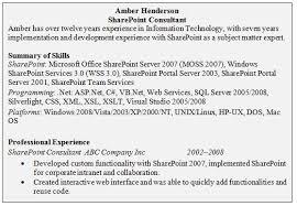 Technical Resume Skills Sales Technical Lewesmr