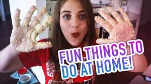 fun things to do at home baby ariel