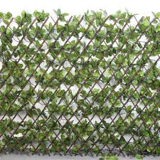 Artificial Trellis With Lights Artificial Willow Trellis With White Flowers Lt001 Plants