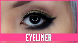 how to apply eyeliner with ease beth bender beauty
