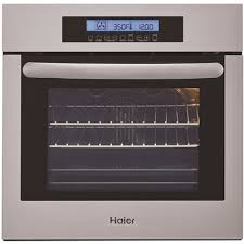 haier 24 in single electric wall oven