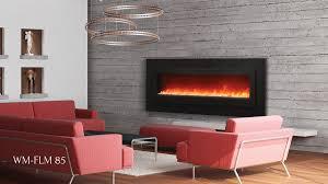 sierra flame 85 electric fireplace wm fml 85