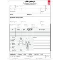 Workplace Patient Report Forms 10 Pack St John Ambulance