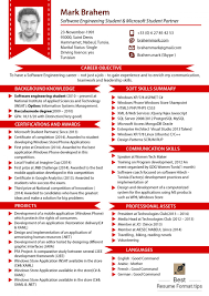 Resume Styles 2017 Delighted Format Resume Terkini 100 Contemporary Entry Level 67
