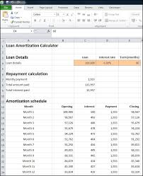 Loan Amortization Calc Monthly Loan Amortization Calculator Plan Projections