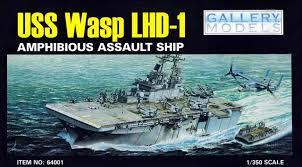 Resultado de imagem para USS Wasp LHD-1 1/350 Trumpeter