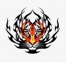 tiger drawing tattoo. Brilliant Tattoo Tiger Tattoo Drawing  Vector In O