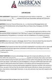 car lien release new jerseyLien Release Form New Jersey  Resume Examples Hairdresser