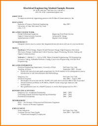 4 Curriculum Vitae Format For Engineering Students Prome So Banko
