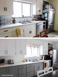 Shabby Chic Kitchen Cabinets On A Budget