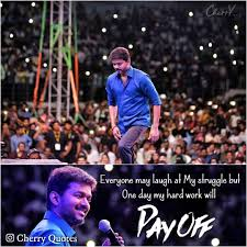 Cherryquotes Cherry Quotes Pay Off Motivation Vijay