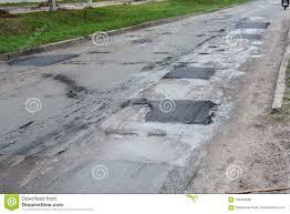 Asphalt Pavement Road Pavers New Asphalt Laid Down
