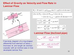 Gravity Pipe Flow Chart Chapter 8 Flow In Pipes Internal Flow Ppt Download