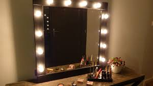 diy makeup vanity lights