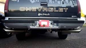 1989 chevy 1500 with straight pipes - YouTube