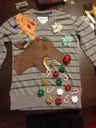 Httpsipinimgcom736xd525aed525ae084369b69Ugly Christmas Sweater Craft Ideas