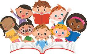 Reading Kids Cartoon Clip Art (Page 6) - Line.17QQ.com