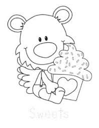 Collection of valentines day coloring pages for kids: Free Printable Valentines Day Coloring Pages