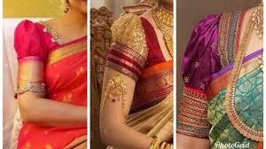 Saree Blouse Sleeve Designs 2018 Puff Sleeve Saree Blouse Designs 2018