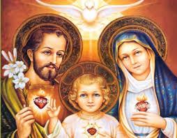 Resultado de imagem para sagrada familia jesus maria e jose