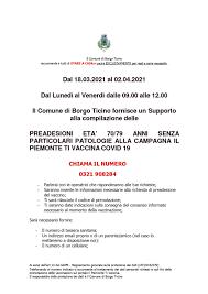 Il Piemonte ti vaccina Covid19
