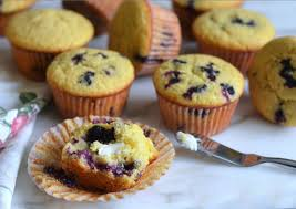 Blueberry Cornbread Muffins Once Upon A Chef