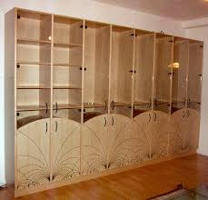 modular cabinet furniture. In Sprint 1996 I Commissioned This Cabinet From A Professional Carpenter. The Design On Front Is Based Mathematical Pattern Of Straight Lines And Modular Furniture