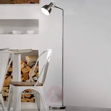 chicago satin finished floor lamp made of metal 8507605 01