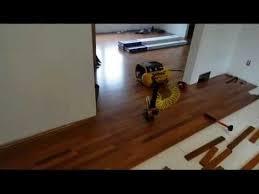 installation of brazilian cherry hardwood flooring