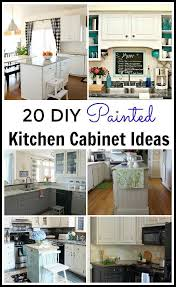 Kitchen Painting Ideas Unique Diy Painted Kitchen Cabinets Ideas