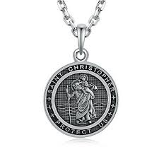 jewelry christopher medal vatican