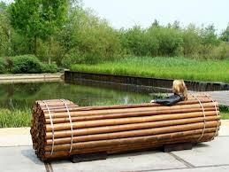 furniture made of bamboo. Garden Furniture Luxury Bamboo Designer Bench Made Of