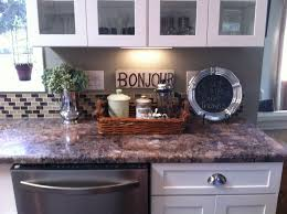 ... Stunning How To Decorate Kitchen Counters How To Decorate A Kitchen  Counter Countertops ...