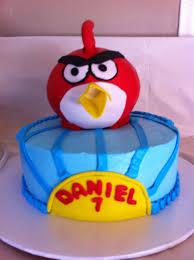 Angry Bird cake | Bird cakes, Angry birds cake, Cake