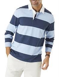 block stripe rugby c red sky blue gazman