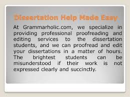 Expert Thesis Editing and Proofreading Service DissertationTeam