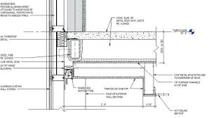 exceptional curtains ideas curtain wall roof detail statistics 1 st glass curtain wall details dwg free