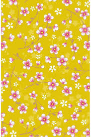 Cherry Blossom Wallpaper Yellow Pip Studio The Official Website